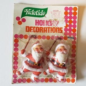 Other - Set of vintage santas